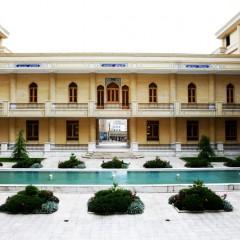 تصویر حیاط شمالی مجموعه بنیاد ایرانشناسی